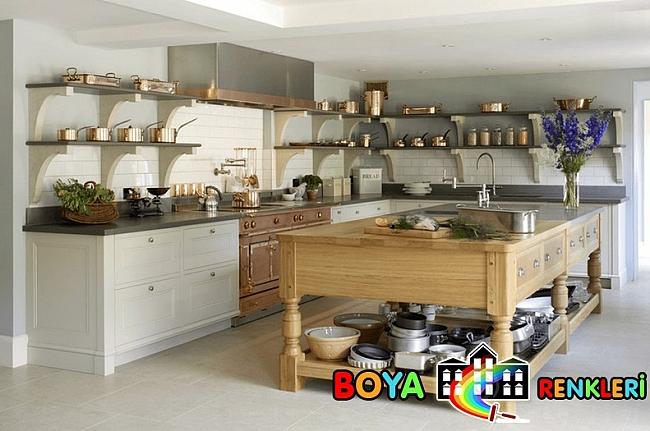 Basit ve Şık İskandinav Mutfak Tasarımları