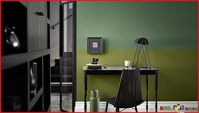 Duvar Dekorasyonunda Çift Renk Uygulamaları