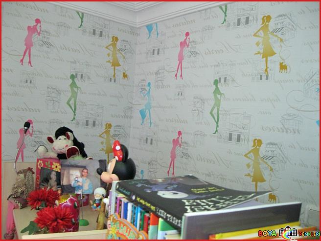 Genç Odası Dekorasyon Fikirleri ve Duvar Kağıdı Modelleri