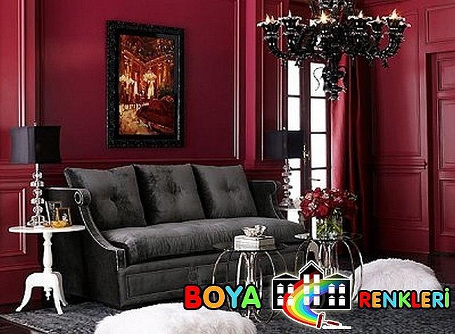 İlginç Duvar Renkleri Farklı Duvar Dekorasyon Fikirleri
