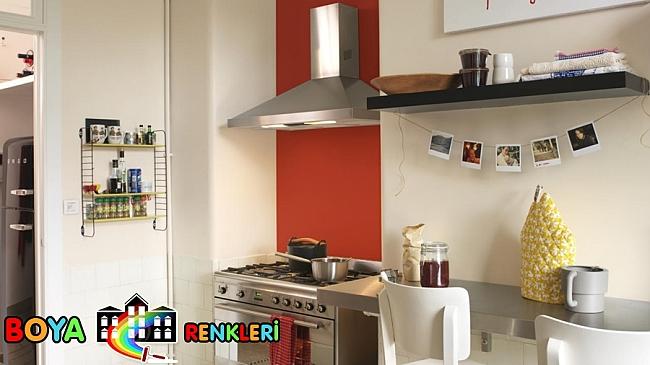 Küçük Mutfakları Geniş Gösterecek Duvar Renkleri