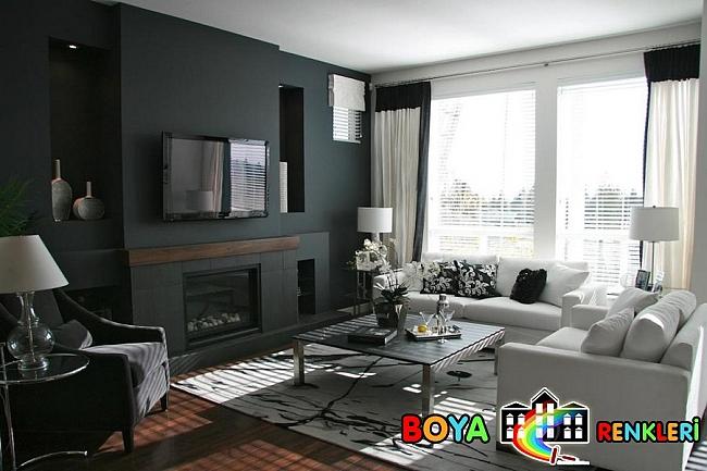 Oturma Odası İçin En Yeni Duvar Renkleri