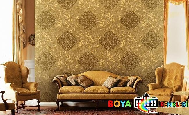 Salonlar İçin Güzel Duvar Kağıdı Desenleri