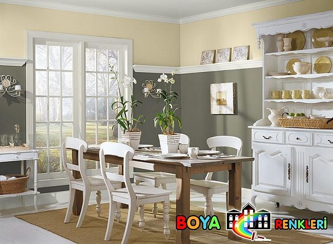 Yemek Odasi Duvar Rengi Ornekleri 1463056393